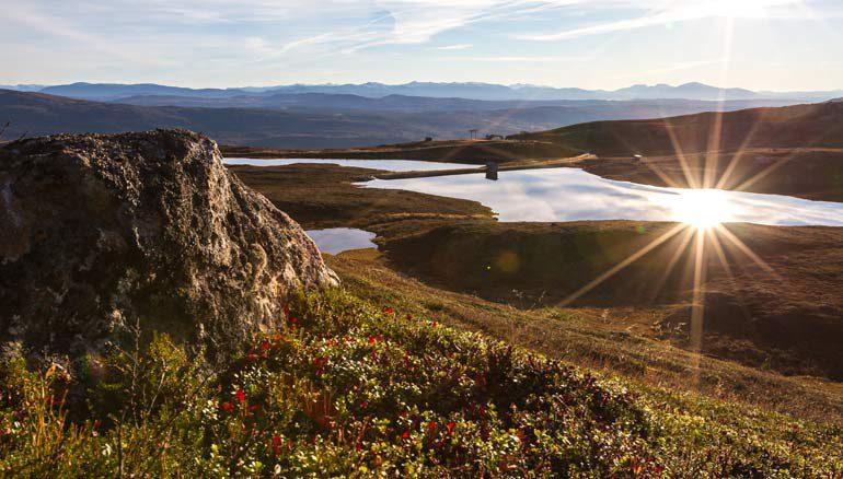Местечко Ulladalen