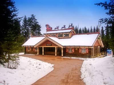 Дом Санта-Клауса в Томтеленде
