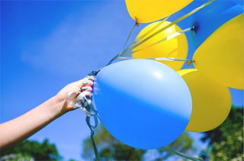 Жёлтый и синий - цвета Швеции
