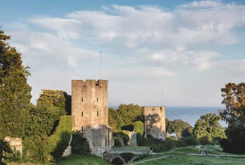 Крепостные стены в Висбю