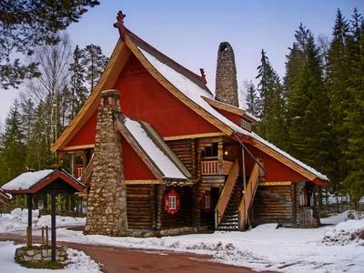 Дом дедушки Томте