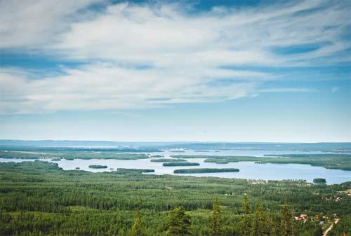 Даларна, озеро Сильян (Siljan)