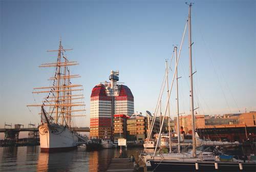 Морской порт Гётеборга