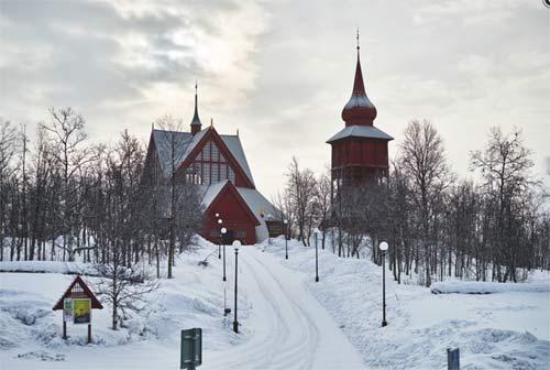 Церковь в Кируна