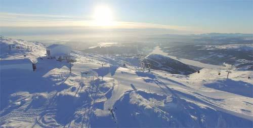 Горнолыжный курорт Оре (Are) в Швеции